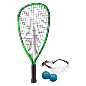 HEAD MX Hurricane Racquetball Pack, Strung, 3 5/8 Inch Grip
