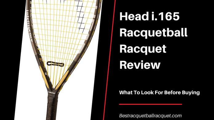 Head i.165 Racquetball Racquet Review